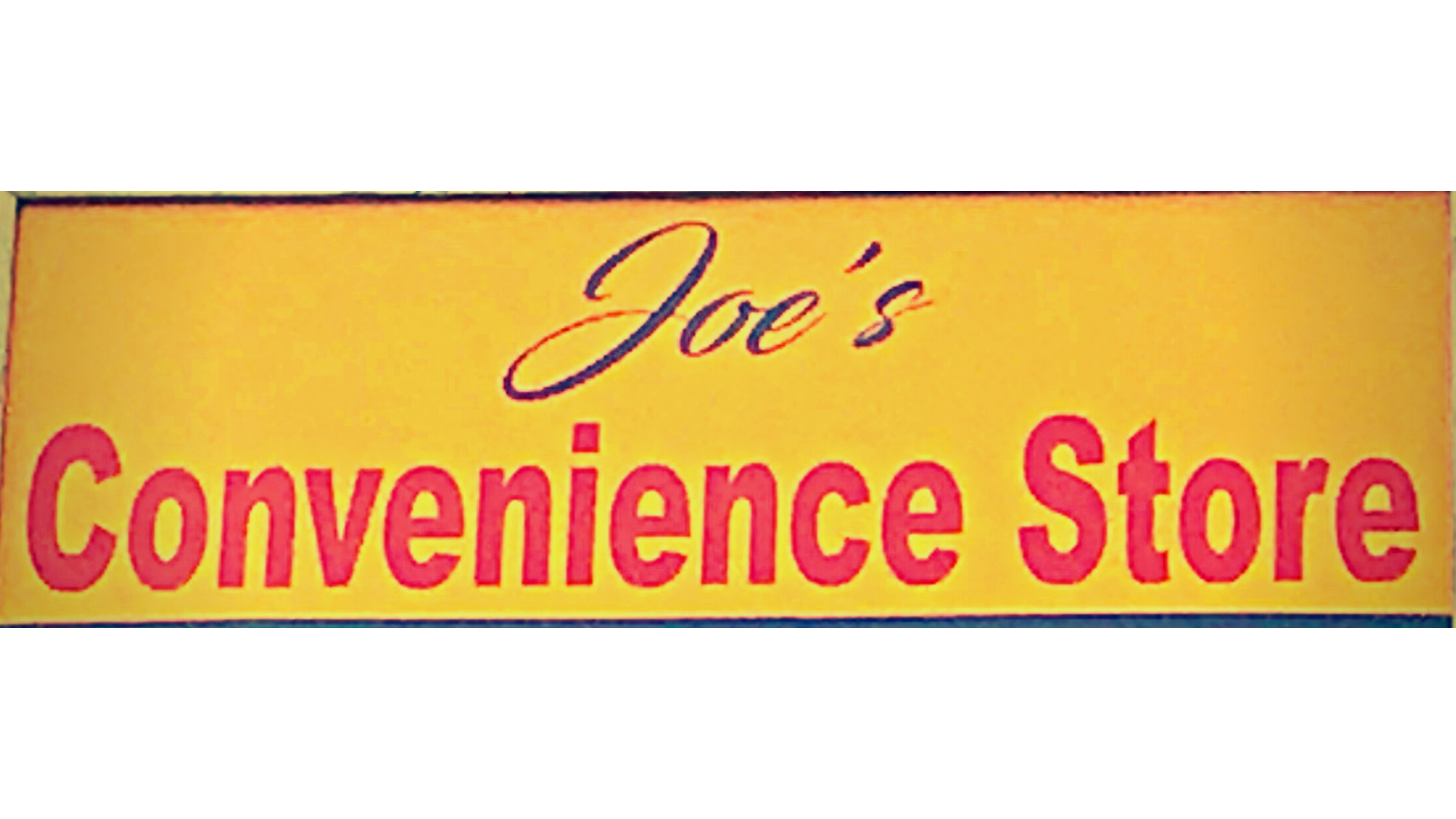Joe's Convenience Store